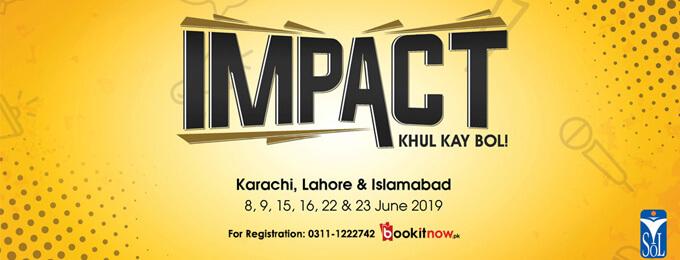 impact 2019 - karachi