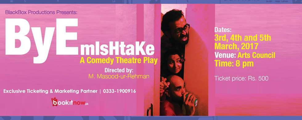 bye mishtake (comedy theatre play)