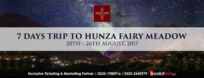 7 days trip to hunza fairy meadow