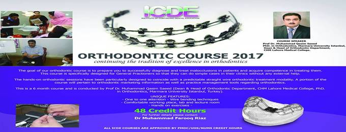 icde orthodontic course 2018
