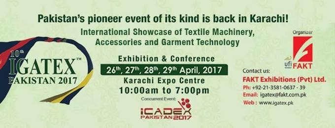 igatex pakistan 2017 garments and textiles exhibition