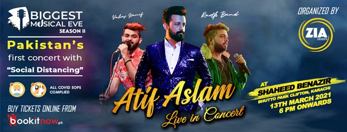 Atif Aslam Live - Biggest Musical eve season 2