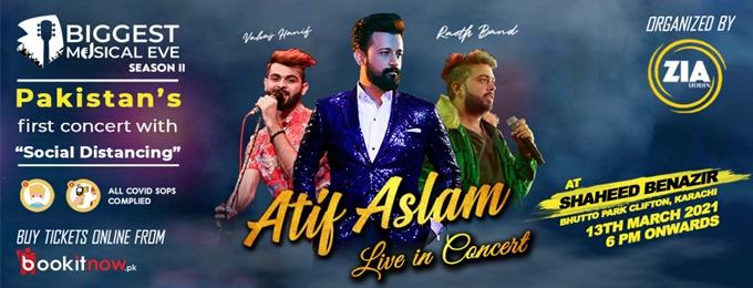 Atif Aslam Live - Biggest Musical eve season 2