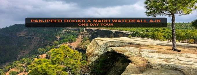 day tour to panjpeer rocks & narh waterfall ajk