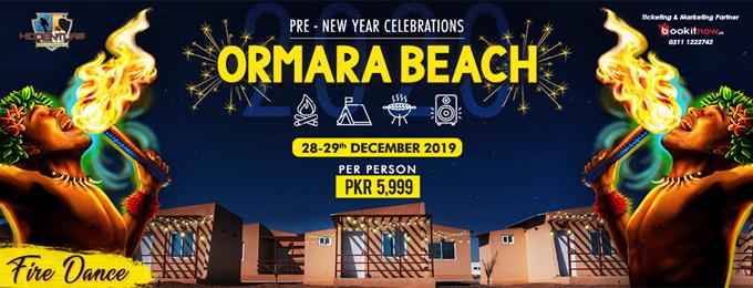 Pre-New Year Celebrations at Ormara Beach