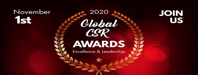 2nd international global csr excellence & leadership awards 2020