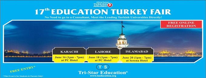 17th education turkey fair: lahore