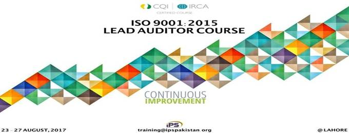 cqi irca certified iso 9001:2015 lead auditor course