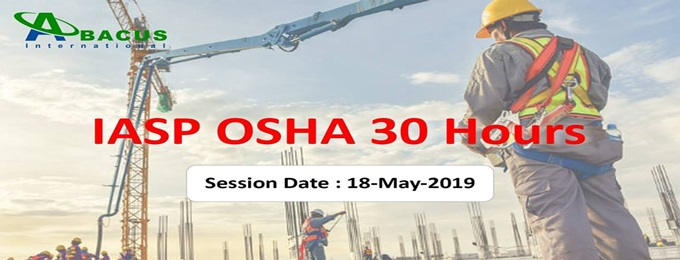 iasp osha 30 hours course in lahore