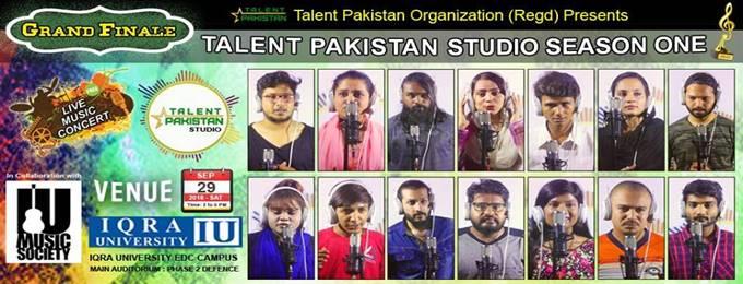 talent pakistan studio season one grand finale (music concert )