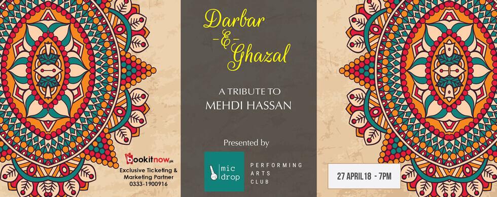 darbar-e-ghazal: tribute to mehdi hassan