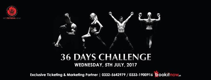 mega fat burnout 36 days challenge