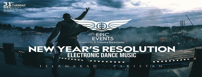 new year's resolution edm party - islamabad