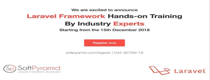 laravel framework training course