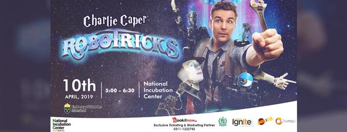 charlie caper robotricks