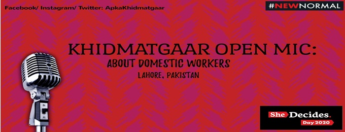 khidmatgaar open mic: about domestic workers