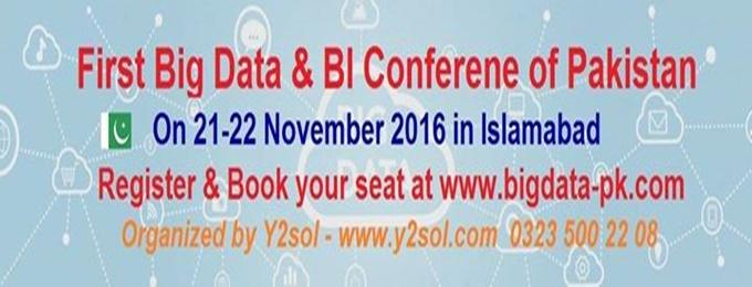 first big data & bi conference pakistan 2017