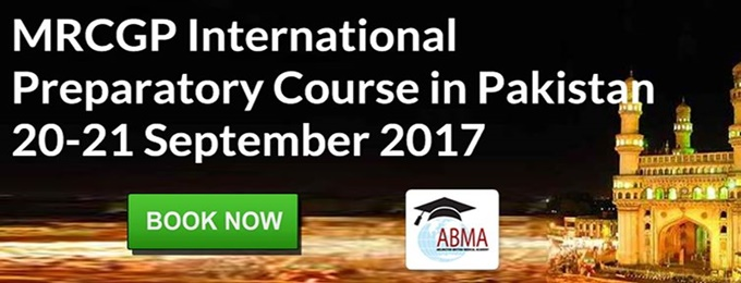 MRCGP (Intl) South Asia Exam Preparatory Course in Pakistan