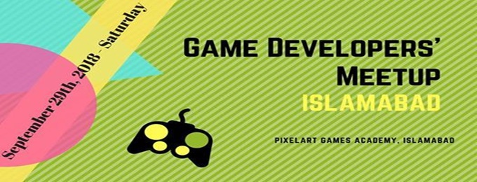 pixelart games academy - game developer's meetup islamabad