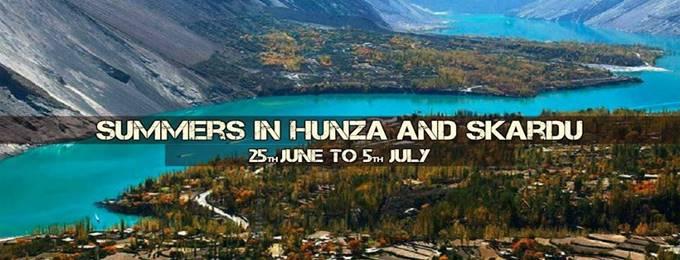 summers in hunza & skardu