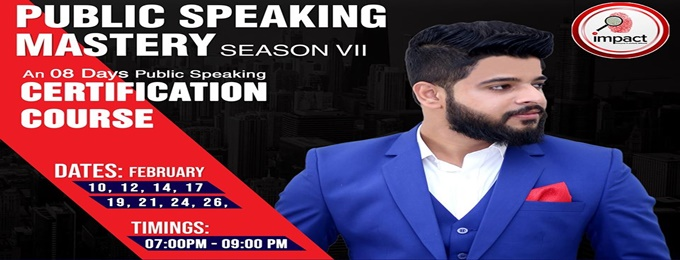 public speaking mastery season vii