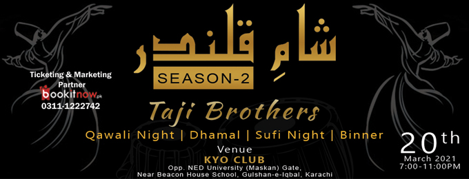 QAWALI NIGHT WITH TAJI BROTHERS