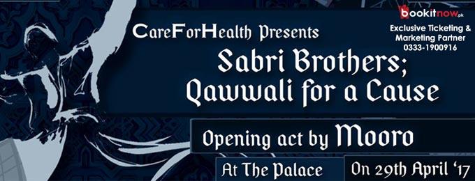 careforhealth presents: sabri brothers; qawwali for a cause