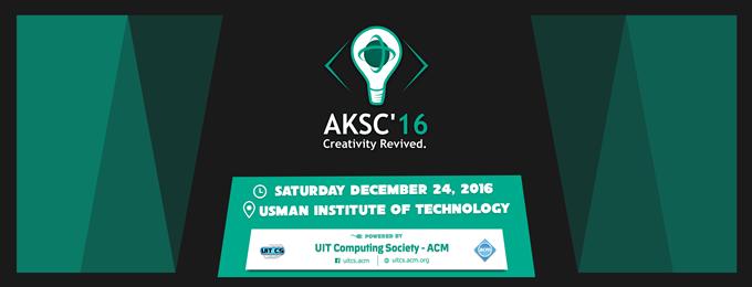 ACM Karachi Student Congress - AKSC 2016 karachi
