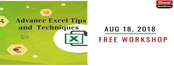 advance excel tips and techniques i free workshop