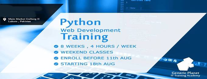 python web development training