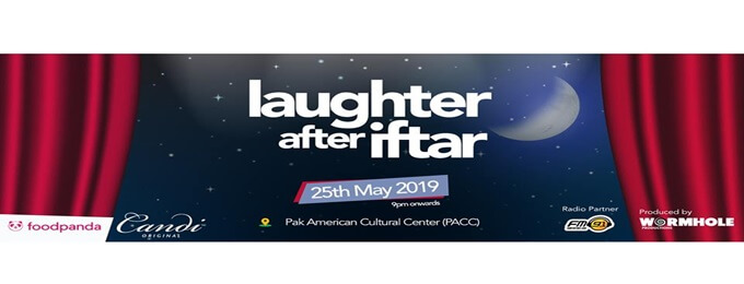 laughter after iftar