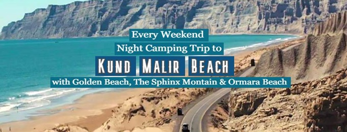 weekend gateway | night camping at kund malir beach