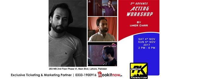 Advance Acting Workshop By Umer Darr