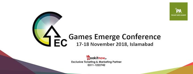 Games Emerge Conference, 2018