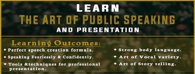 2 days public speaking workshop