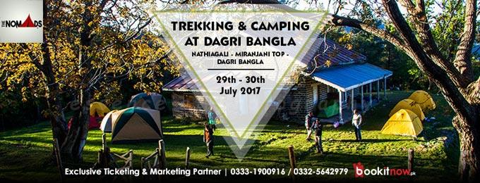 2 days trekking and camping at dagri bangla (nathiagali)