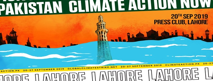 climate action now! lahore → 20 september