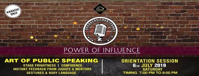 speaker's courtyard - public speaking course