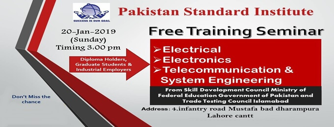 free training seminar
