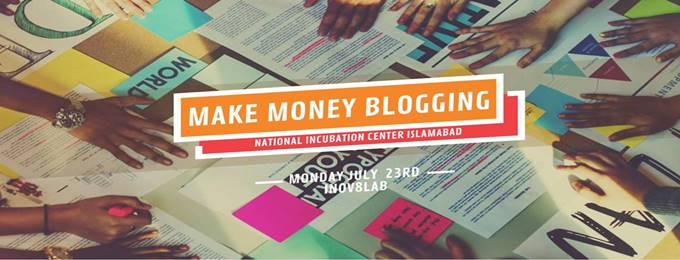 make money from home with blogging