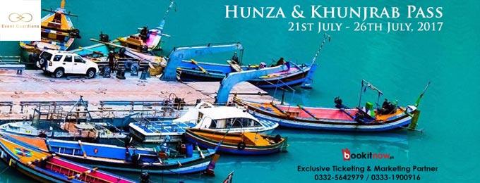 hunza & khunjrab pass (departure from lahore & islamabad)
