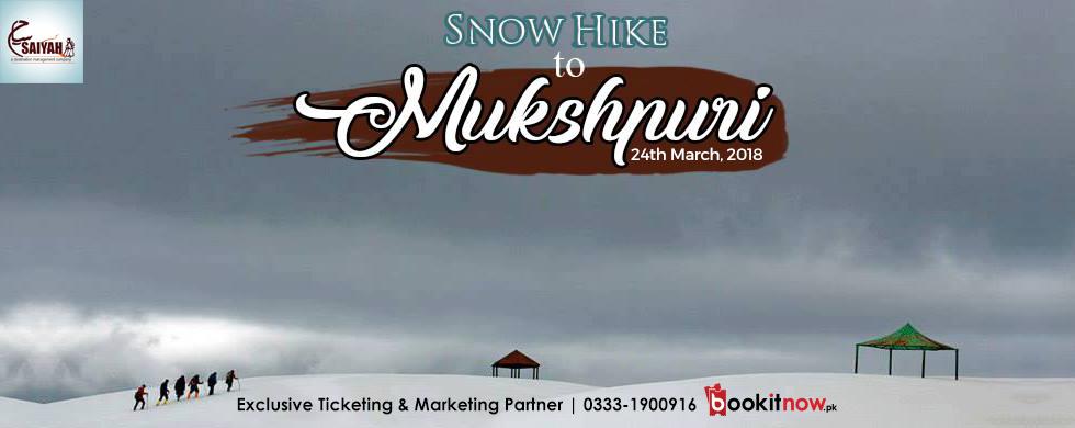 snow hike to mukshpuri