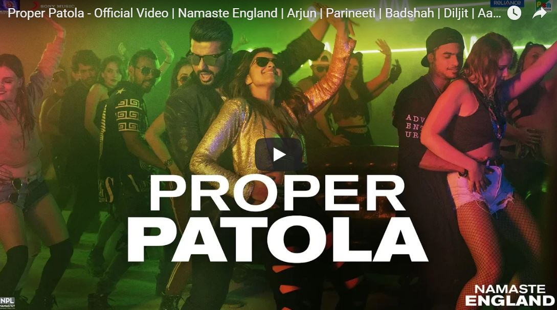 Proper Patola - Official Video Song | Namaste England
