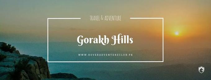 camping excursion to gorakh hills.