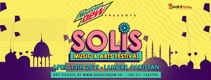 Mountain Dew Presents Solis Music Festival, Lahore
