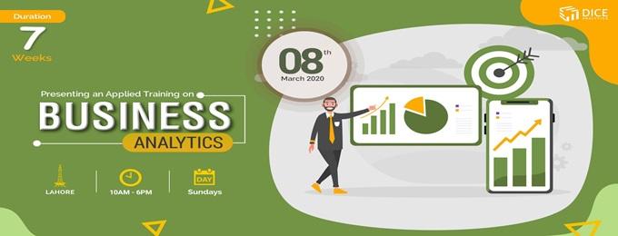 lahore training: business analytics in digital world