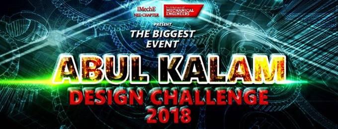 abul kalam design challenge 2018