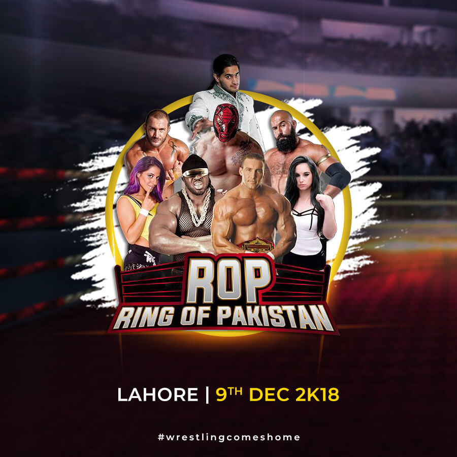 Professional Wrestling - Ring Of Pakistan