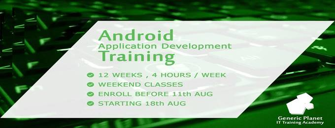 android summer training session (become an android developer)