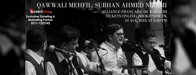 Qawwali Mehfil: Subhan Ahmed Nizami